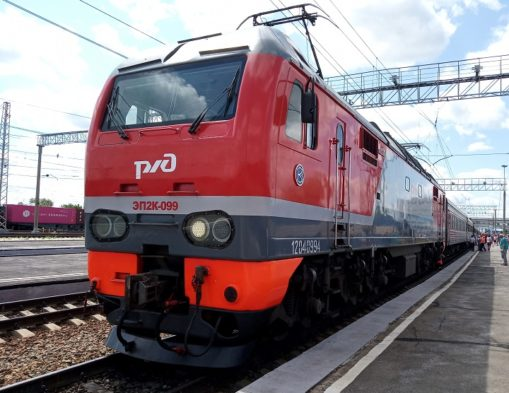 kolej transsyberyjska lokomotywa
