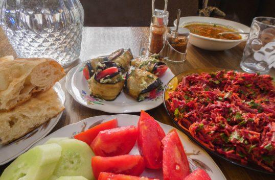 Gruzja, domowe jedzenie