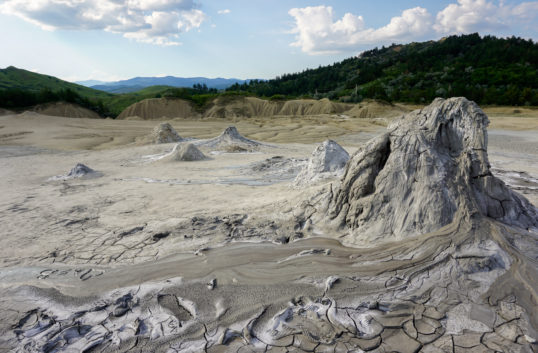 Rumunia błotne wulkany